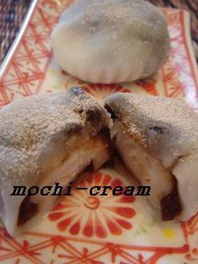 カプチーノ大福♡mochi-cream風