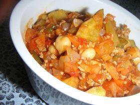 野菜が主役のチリコンカン