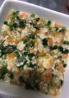 離乳食 厚揚げ豆腐の野菜あんかけ