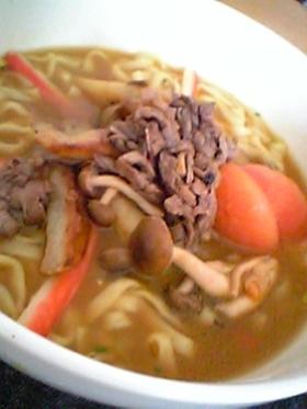 肉カレーうどん  (艶うどん使用)
