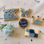 出産祝いや子供の日に◇アイシングクッキーの写真