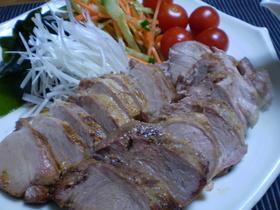 豚ヒレ肉のオーブン焼き 柚子胡椒の漬け汁