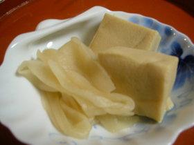 かんぴょうと高野豆腐の含め煮