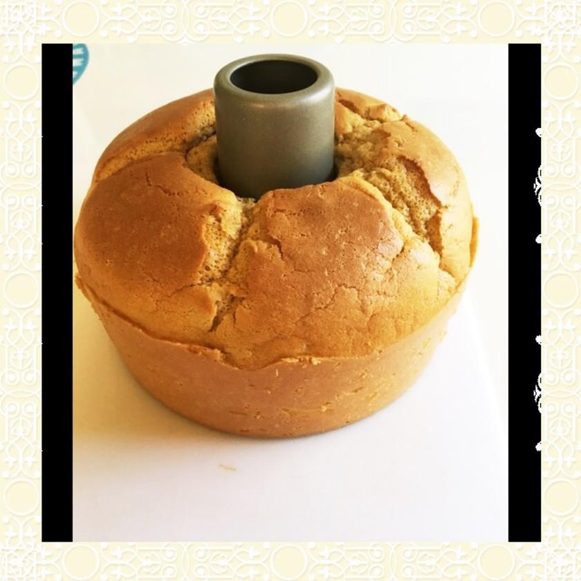 低糖質 ふすまパンミックスでシフォン