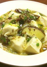 豆腐と生きくらげの煮物 中華風