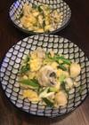 牡蠣の卵とじ☆香ばし味噌あじ