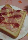 朝食に簡単・大満足!ピザ☆トースト