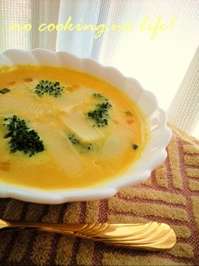 スープの素を濃厚・美味しくする方法☆