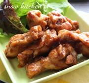 焼肉のタレで簡単☆手羽元のピリ辛煮の写真