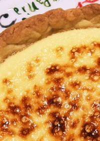 ベイクドチーズケーキ(スライスチーズ)