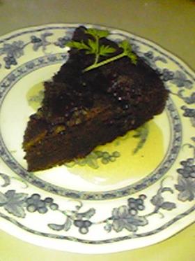 し~っとり♥お豆腐でチョコレートケーキ
