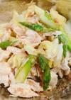 鶏ささみと春キャベツの胡麻和えサラダ