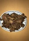 ラム肉のスパイス炒め