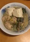 簡単栄養満点の味噌豆乳鍋