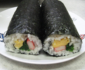 超簡単☆巻き寿司風のり巻き