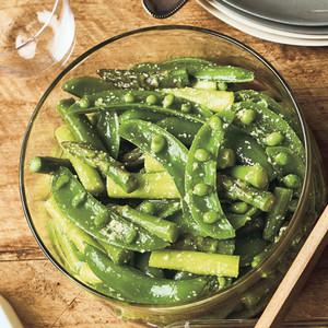 緑色サラダ