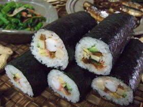 ☆恵方巻き(巻き寿司)寿司飯のつくりかた