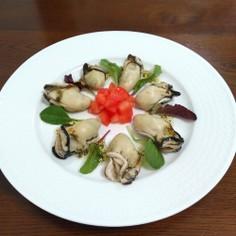 牡蠣のカルパッチョ