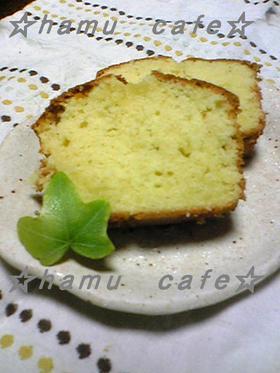 ふんわり バターケーキ