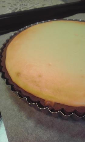 まぜて焼くだけ簡単ベイクドチーズケーキ