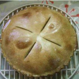 ポテト・アップルパイ(バター卵不使用)