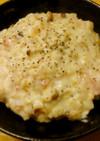 簡単昼食 オートミールのチーズリゾット風