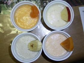 カラフルフルーツアイス