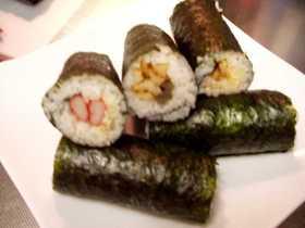 ハート♪な巻き寿司
