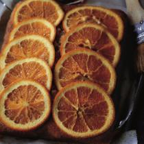 オレンジリキュールケーキ