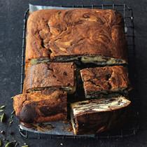 マーブルチョコレートケーキ