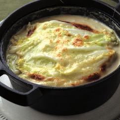 白菜と牛肉のミルフィーユグラタン