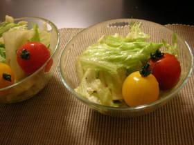 ごま油香る絶品サラダ