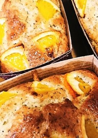 清見オレンジと紅茶のパウンドケーキ