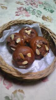 ココアフルーツパン♪の写真