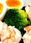 ブロッコリーと海老の前菜サラダ♪ 簡単