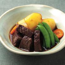 牛バラ肉の角煮と男爵の肉じゃが