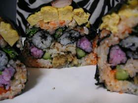 節分♪鬼の飾り巻き寿司