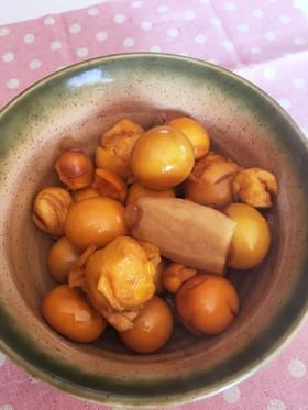鶏きんかんのハチミツ生姜煮