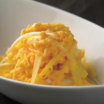 卵と黄にらの水炒め