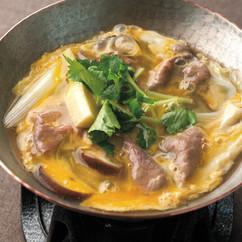 牛肉と筍の卵とじ