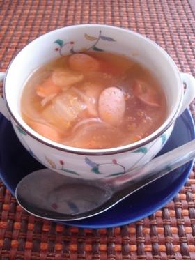 キムチコンソメスープ