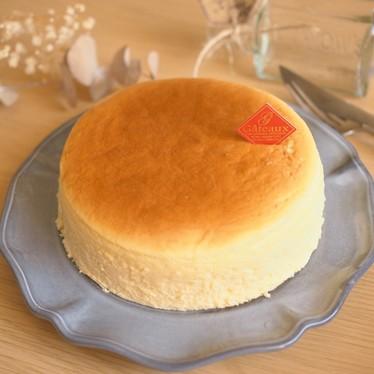 *しゅわっと濃厚♪スフレチーズケーキ*