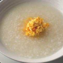塩漬け卵のお粥