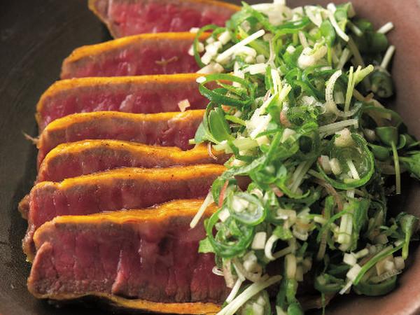 牛肉の黄身焼き
