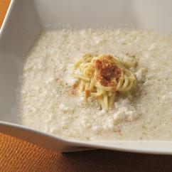 卵白とささみのおぼろ風スープ麺