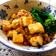 甘辛麻婆豆腐