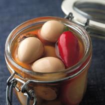 うずらの卵のピクルス