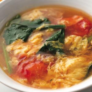 卵とトマトの酸辣湯