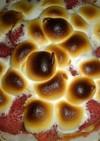 マシュマロチョコイチゴピザ!