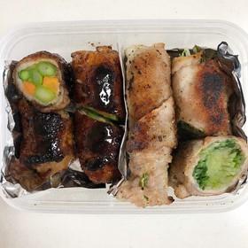 作り置き&お弁当にも♡水菜の豚肉巻き